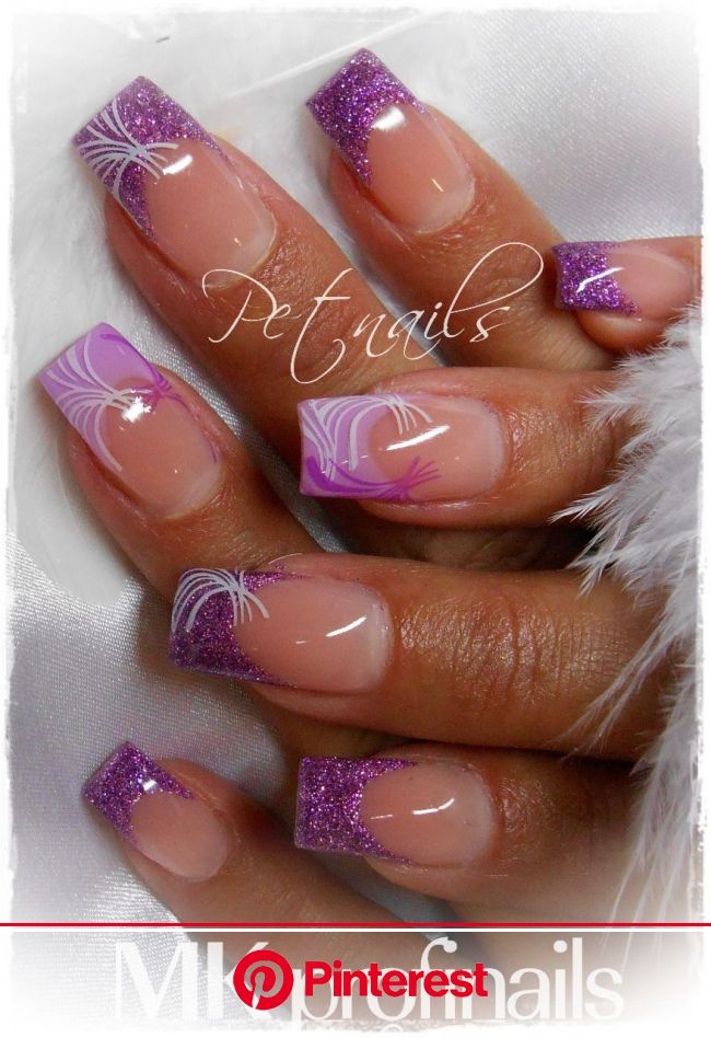 Fotogalerie :: Petnails | Purple nail art, Fashion nails, Purple nails
