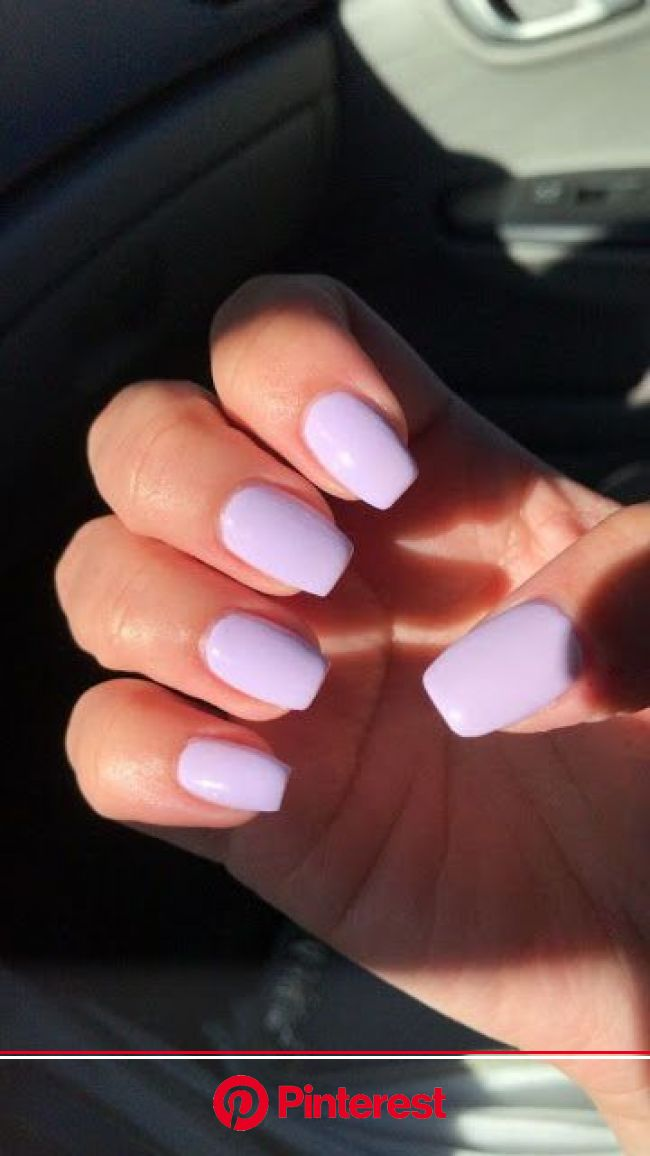 10 Summer Manicure Ideas To Try This Season! | Pretty acrylic nails, Acylic nails, Lavender nails