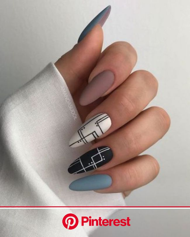 Hot Nail Art You Need To Rock This Summer - Society19 | Simple fall nails, Hot nails, Fall nail art designs
