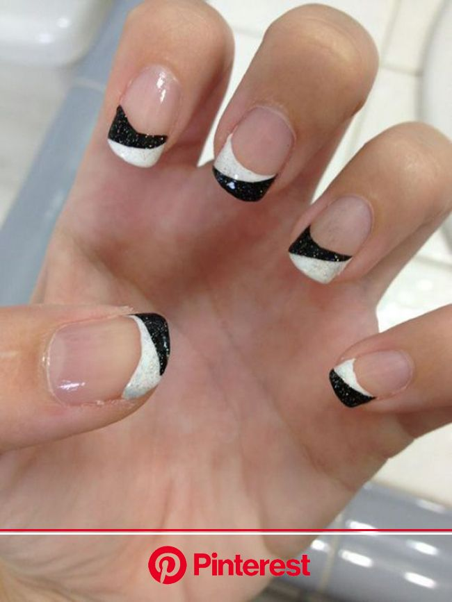 70 Ideas of French Manicure Nail Designs | French nail designs, Manicures designs, French manicure nails