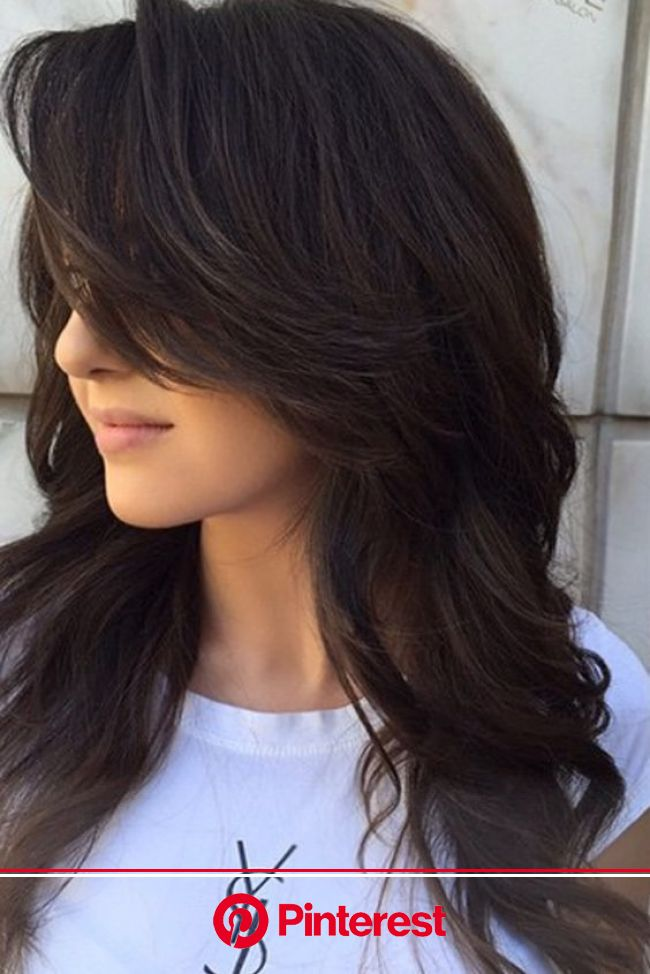 How To Get The Perfect Layered Hair According To Your Face Shape | Long layered haircuts, Long hair styles, Haircuts for long hair