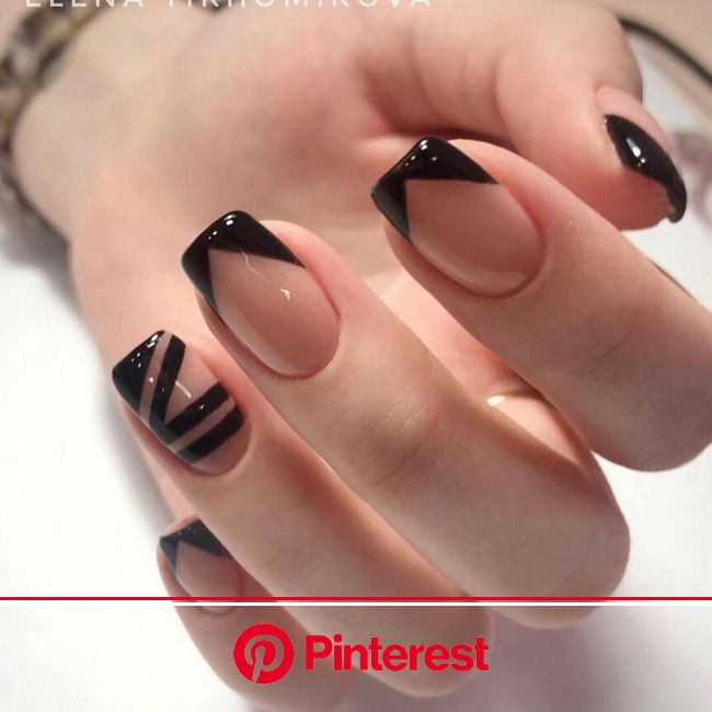 50+ Trendy Winter Nail Art Ideas For 2019 | Minimalist nails, French nail art, Trendy nails