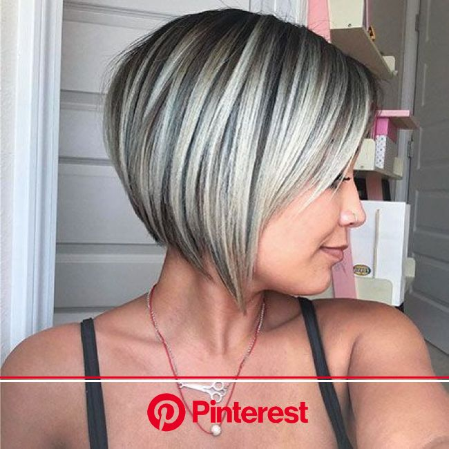 11 Habits Of People With Gorgeous Hair Short Layered Bob Hairstyles Thick Hair Styles Hair Styles 2017 Clara Beauty My