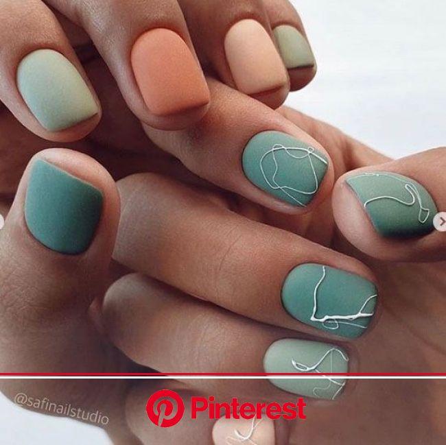 2020-09-13_21-37-53 в 2021г | Ногти, Маникюр с брызгами, Круглые ногти