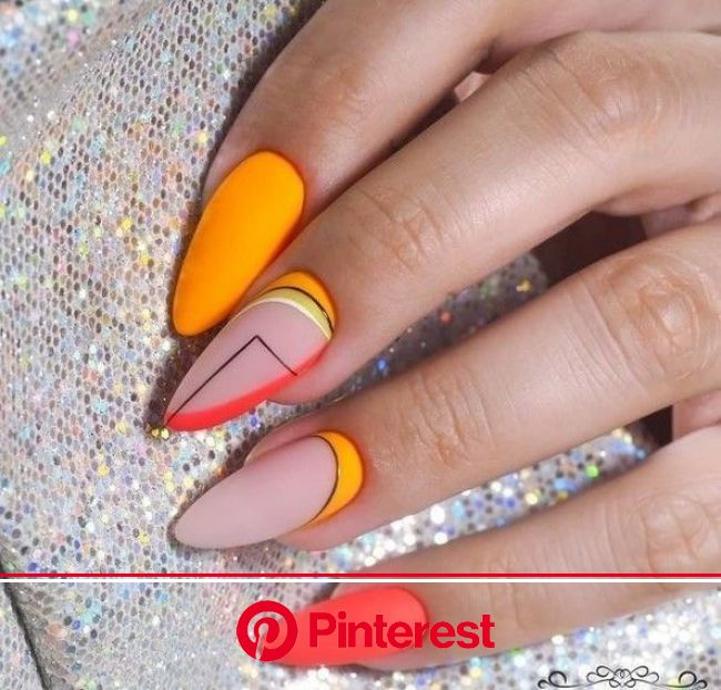 Diseños de uñas 2019 que son tendencia y amarías recrear | Neon nails, Neon nail designs, Cute nails