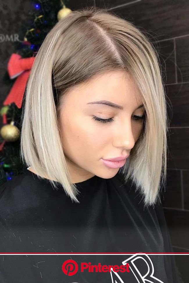 30 Best Short Hairstyles For Round Faces in 2021 | LoveHairStyles.com | Short hair styles for round faces, Blunt bob hairstyles, Hair lengths