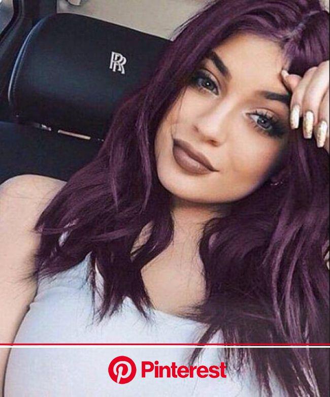 25 sweet plum hair color ideas - Best Hairstyle | Dark purple hair, Dark purple hair color, Hair color plum