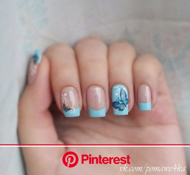 Nail Art #59 - Best Nail Art Designs Gallery | BestArtNails.com | Butterfly nail art, Butterfly nail, Pretty nail art designs