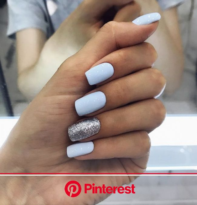 Great Photographs Nail Art Glitter spring Ideas As well as garments, curly hair in addition to shoes or boots, the followi… | Cute spring nails, Nails
