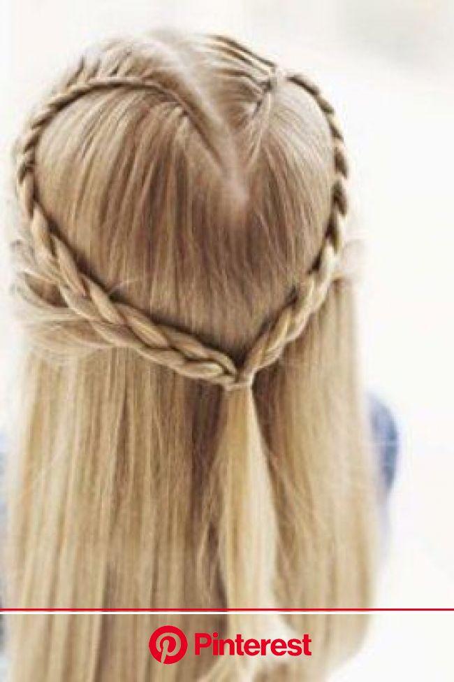 Esta é outra forma de dispor as tranças (Pinterest/Skinny Mom) | Penteados com trança, Penteados, Penteados lindos