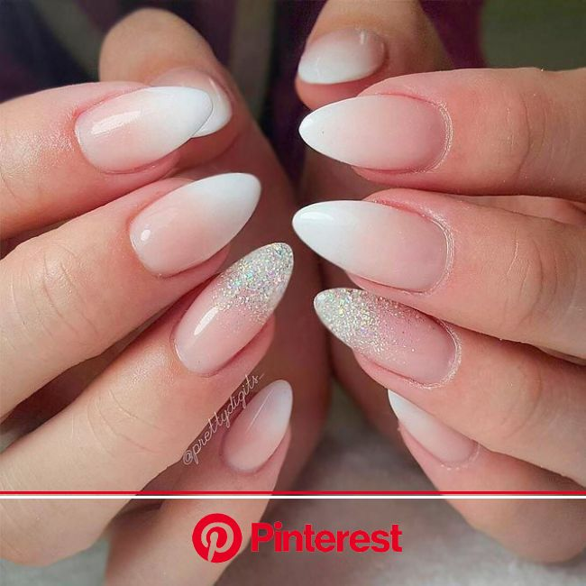 Hot Pretty Nails For Weddings | NailDesignsJournal.com | Ombre nail art designs, Bridal nails, Ombre nails