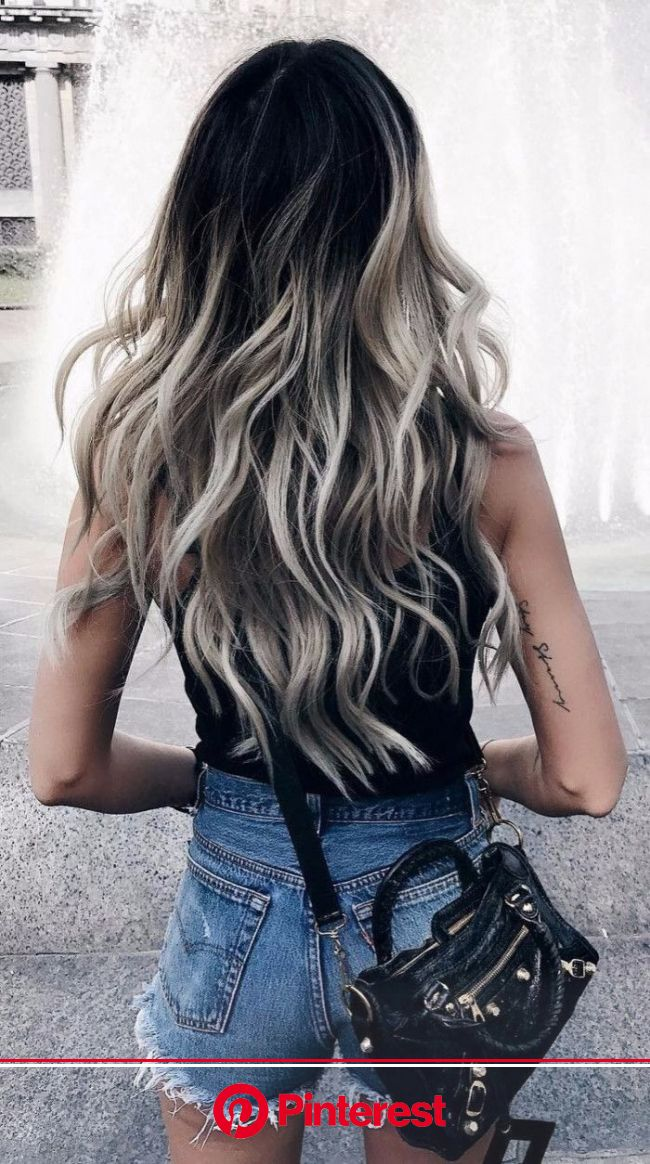 Uploaded by Queen Of Everything. Find images and videos about fashion, style and photography on We Heart I… | Ombre hair blonde, Dark roots blonde hai