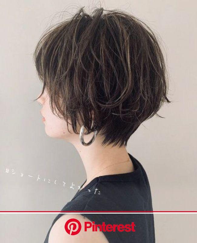 迷ったらコレ!ショート&ボブにイメチェン検討している方々へ…♡【HAIR】 | ヘアスタイリング, 60代 髪型, ショートのヘアスタイル