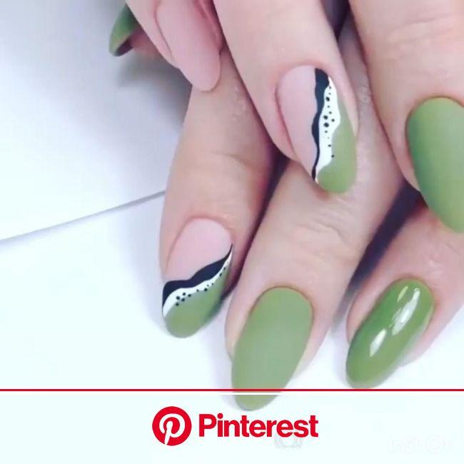 [Видео] «Simple nail design for you» | Осенние ногти, Гелевые ногти, Современные ногти