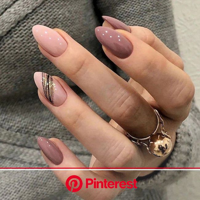BEPHORA Handmade Gorgeous Wearable Pink Color Oval Hand | Etsy | Almond nails designs, Cute acrylic nails, Short nails art