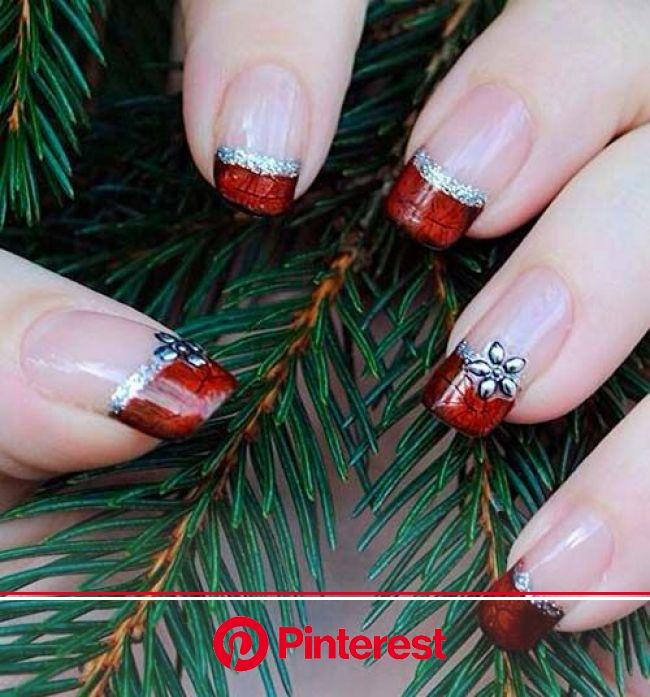 30 ideias de Nail Art para usar no Natal | Unhas decoradas, Unhas artísticas, Unhas