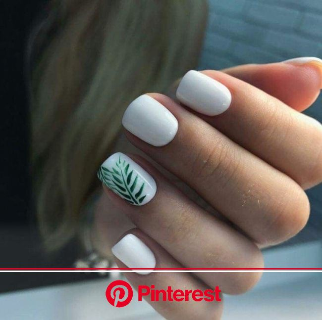 White Nail Colors & Inspiration For All 4 Seasons | in 2021 | Beach nails, Tropical nails, Basic nails
