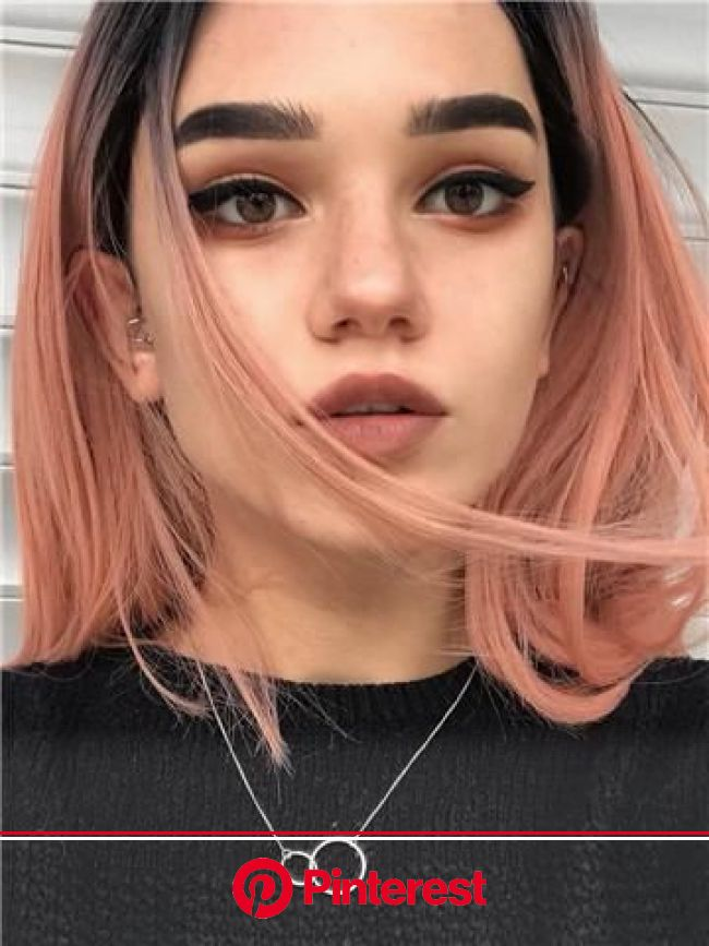 50 Amazing Short Hairstyles for 2019 | The Fashionaholic | Peach hair, Short hair color, Hair styles