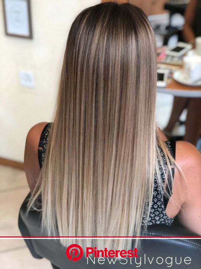 make sure you give me a follow in 2020 | Straight hair highlights, Balayage straight hair, Ombre hair blonde