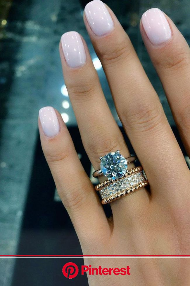 10 Fresh Engagement Ring Trends For 2018 (With images) | Bride nails
