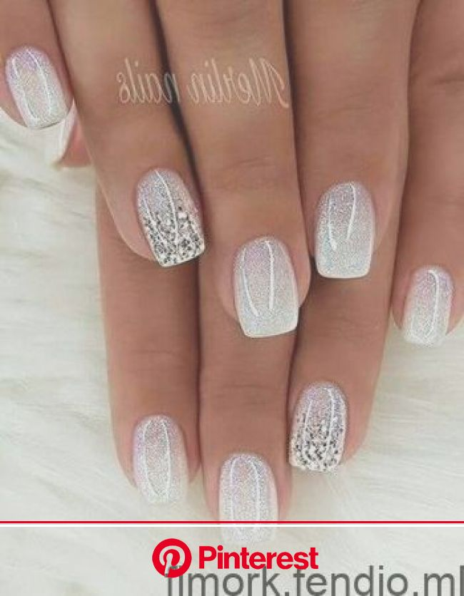 30 winter nails perfect for the holiday season  wedding nails #holiday #nails #perfect #season #wedding #winter in 2020 | Bride nails, Cute nails, Tre